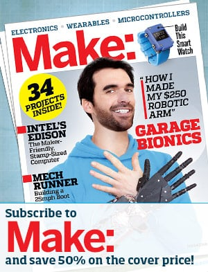 Subscribe to MAKE magazine!
